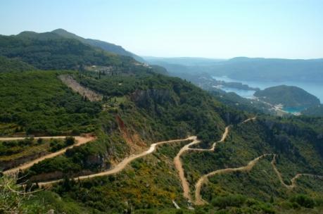 Corfu wandelen