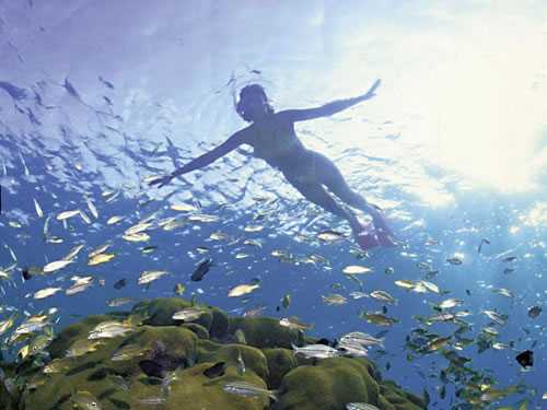 Snorkelen Corfu